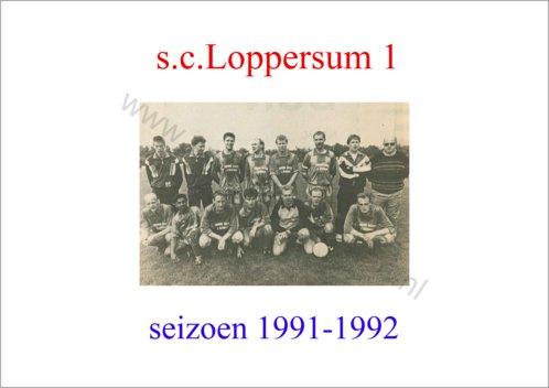 seizoen 1991-1992