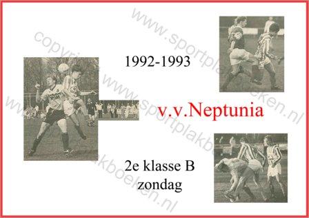 seizoen 1992-1993 (zo)
